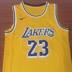 Nike NBA LA Lakers LeBron James Authentic Jersey